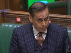 Wakefield MP Imran Ahmad Khan. Photo: ParliamentLiveTV